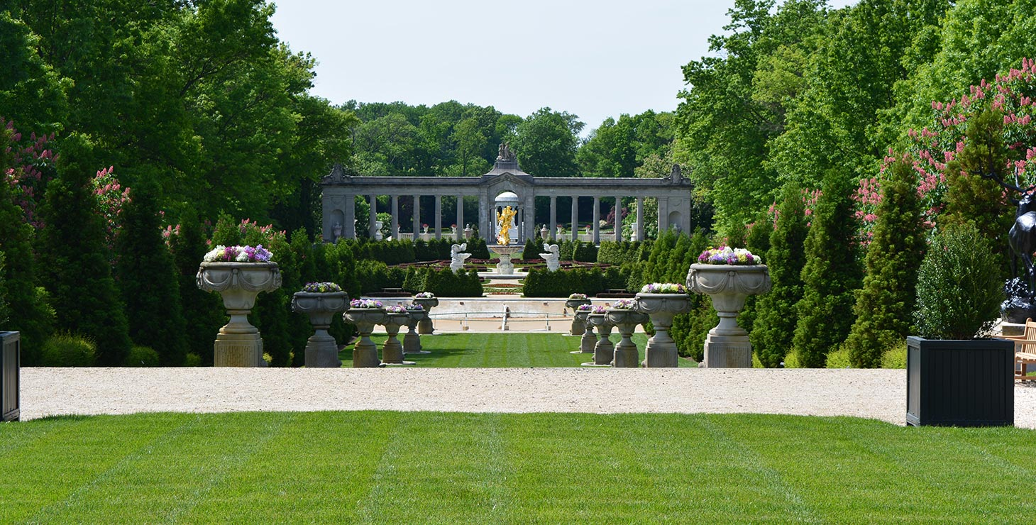 Gardens at Nemours Mansion