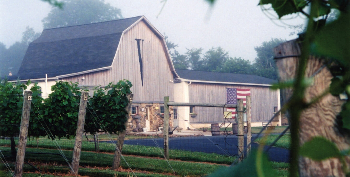 Barn at Va La Vineyards