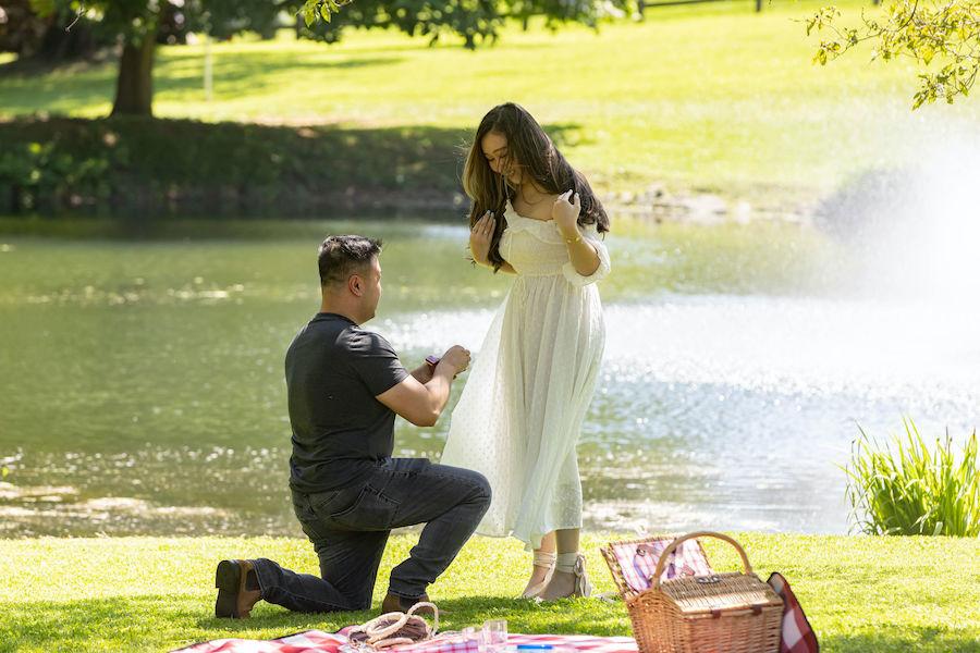 Romantic Pennsylvania Proposal in Brandywine Valley