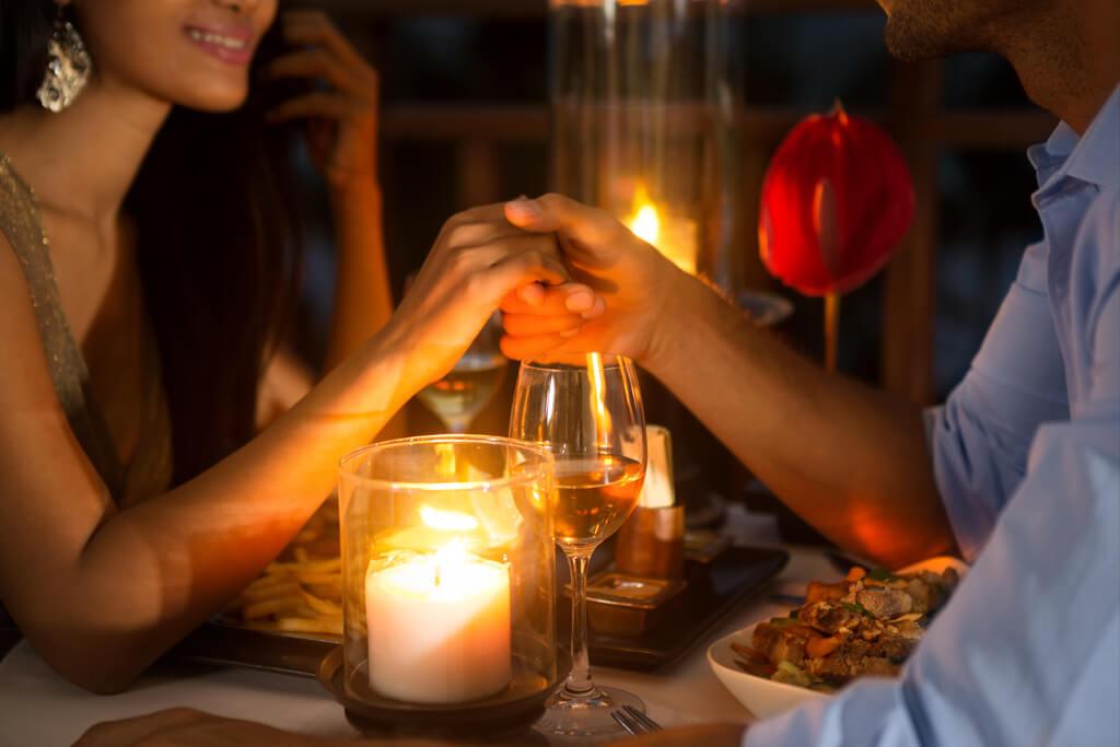 Romantic dinner in Brandywine Valley PA