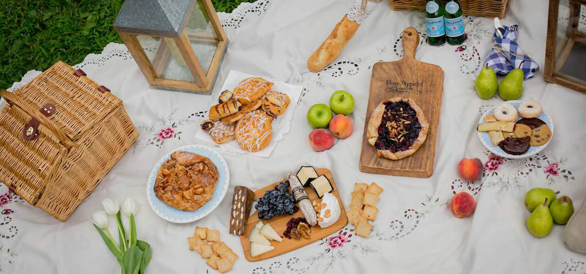 European Picnic at a Pennsylvania Bed and Breakfast