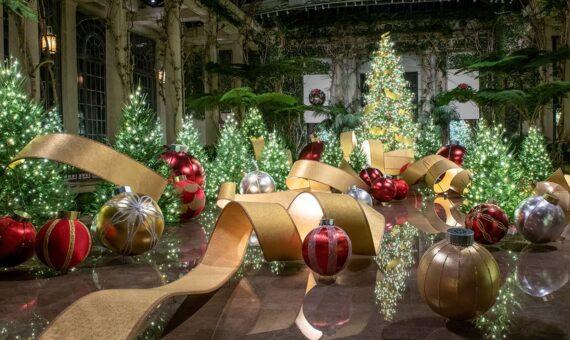Longwood Gardens holiday decorations